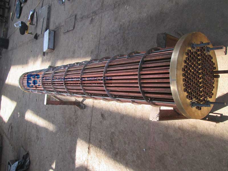 Industrial Fuel Coolers : Oil cooler gas coolers heater tsf engineering services