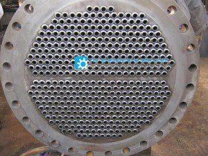 tube sheet after welding